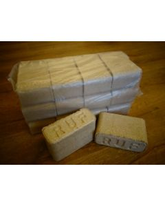 RUF Birch Heat Logs - 12 pieces